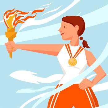 Всероссийский творческий конкурс «Олимпийский огонь зажигает сердца»